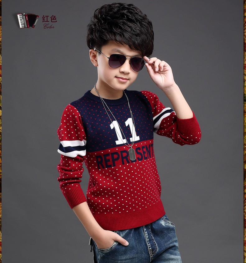 MIQI Full Cross In Boys Girl Clothing Knitted Children Sweater Kids Shrugs  Cothes Pullover Cotton Age 1 5Years Cicishop-in Sweaters from Mother & Kids