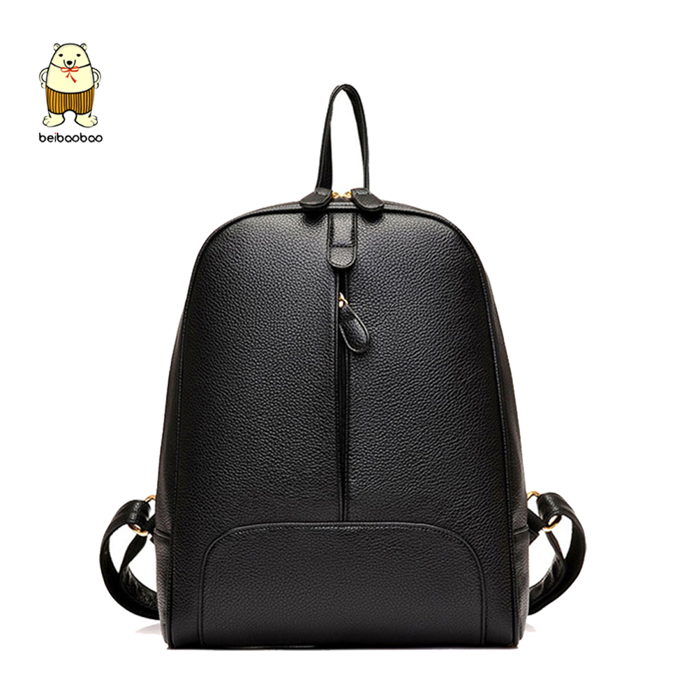 Beibaobao 2019 New Women Backpacks High Quality Fashion Daily Backpacks  School Bags For Girls Student Package b5b46fd0aca6f