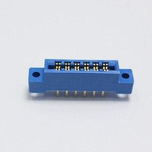 Image 4 - 30 ピース/ロット 805 カードエッジコネクタ 3.96 ミリメートルピッチ 2 × 6 行 12 ピン PCB スロットはんだソケット SP12 ディップはんだブロックタイプ