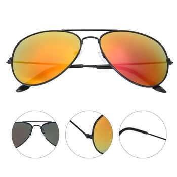 安全メガネサングラスミラー古典サングラス男性女性ゴーグル眼鏡多色 UV400 駆動男性/ウォメ