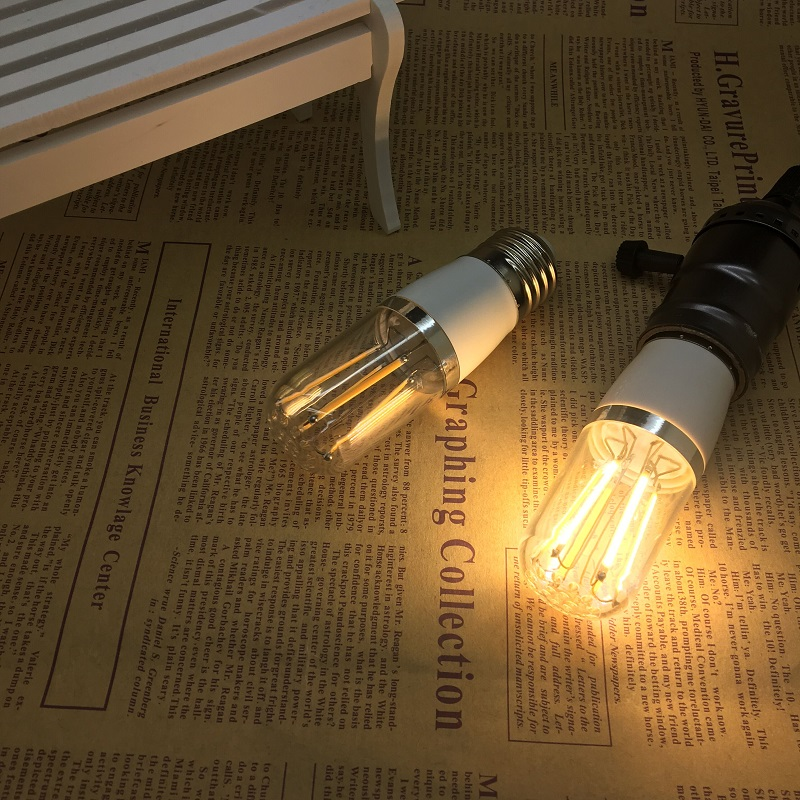 LED Retro lamp e27 vintage edison filament light 110v 220v incandescent bulb st30 st64 l ...