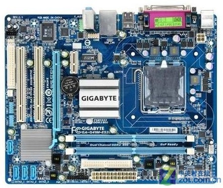 original motherboard for Gigabyte GA-G41M-ES2L DDR2 LGA 775 boards G41M-ES2L VGA USB2.0 8G G41 Desktop motherboard Free shipping modern minimalist 9w led acrylic circular wall lights white living room bedroom bedside aisle creative ceiling lamp