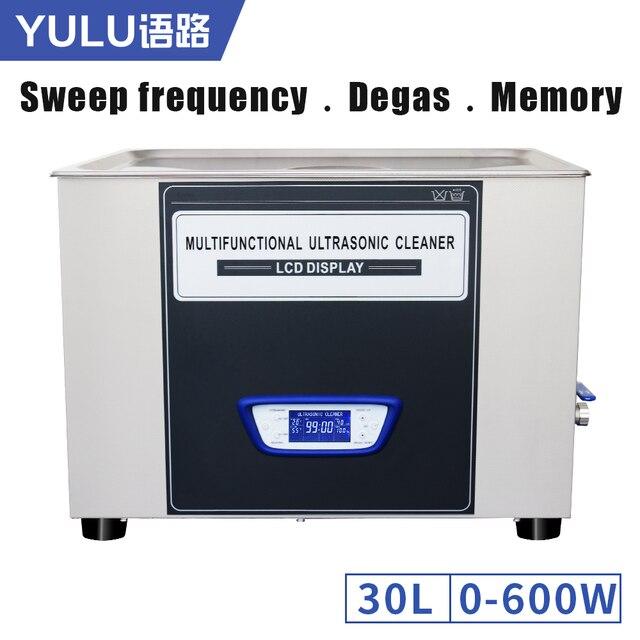 TUC-300 Digital Ultrasonic Cleaner Bath Power Time Heat Adjustment Sweep Degas Memory Function Cleaning Machine Equipment Tools