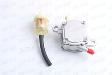 Vacuum Fuel Pump Vallve Petcock Switch Outlet for 4 Stroke GY6 50 150cc Scooter Moped ATV