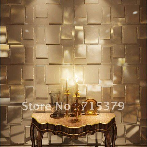 2012 New design 3d wall panel,DIY decoration embossed-in Wallpapers ...