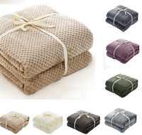 CAMMITEVER фланелевый плед в клетку с ананасом, хорошее качество, домашний текстиль, осень/зима, теплая мягкая простыня