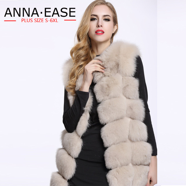 3198391568 Plus Size Faux Fur Vest Jacket Winter Warm Coat Women Leather Jacket Fur  Vest Ladies Fake Fur Vest Underwear
