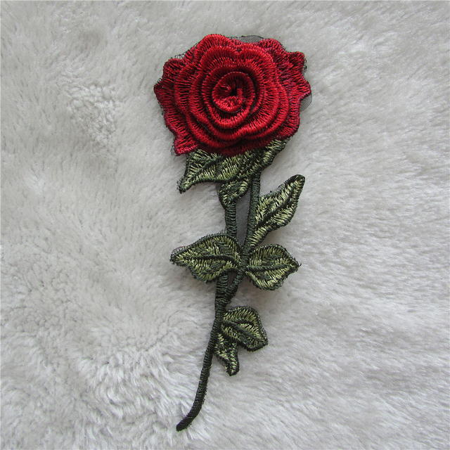 rose flower pattern fashion style exquisite Sewing Embroidered lace ...