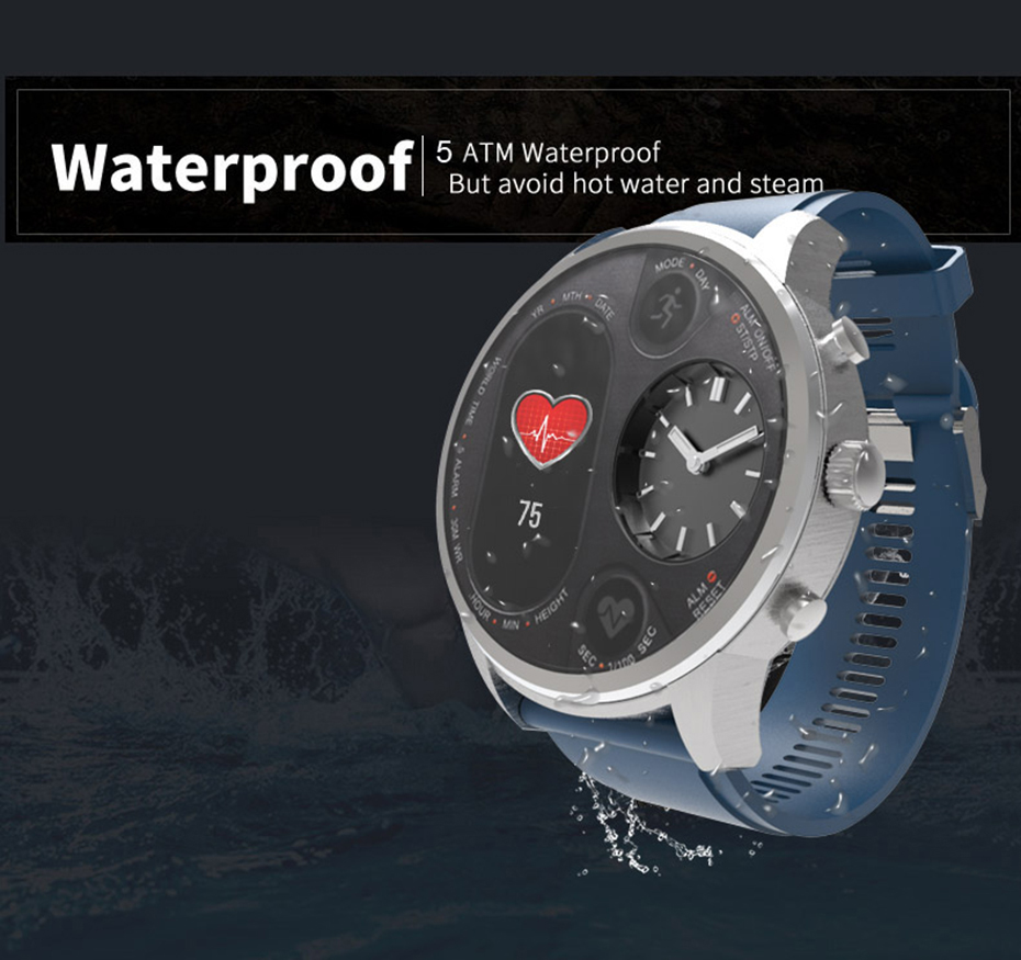 COLMI T3 Sport Hybrid Smart watch Stainless Steel Fitness Activity Tracking IP68 Waterproof Standby 15 Days BRIM Smartwatch 5