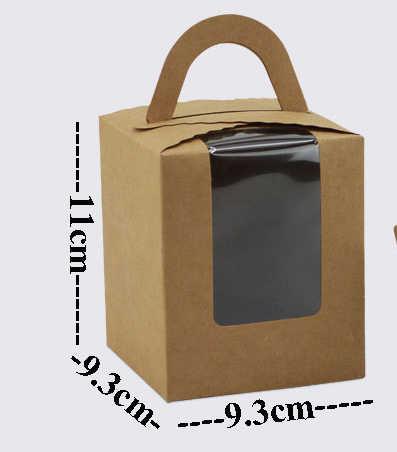 50 個折りたたみクラフト紙のギフト包装箱カスタムカートン段ボールボックス手作り石鹸ジュエリーキャンディーパッケージ紙箱小