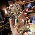 Que bling strass diamante tpu silicone caso do diamante para o iphone 7 7 plus 6 6 s 6 mais 6 splus grande diamante caso de telefone