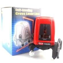 ACUANGLE A8826D Laser-niveau 360 degree selbstverlaufende Kreuzlaser ebene Roten Linien 1V1H1D 2 Linie 1 Punkt Kompatibel mit AK435