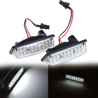 Free Shipping 2X Error Free LED License Plate Light Car License Light For Nissan TEANA 2003
