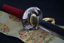 HIGH QUALITY 1095 HIGH CARBON STEEL CLAY TEMPERED SAMURAI KATANA SWORD