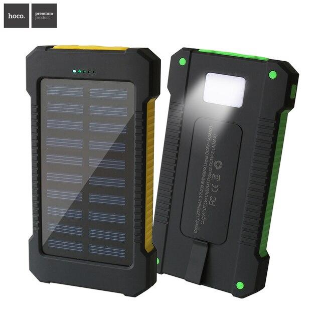НОСО Новый открытый Солнечной энергии банк real12000 мобильный powerbank универсальное портативное солнечное зарядное устройство лучшее качество солнечной батареи
