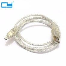 USB ذكر إلى Firewire IEEE 1394 4 دبوس ذكر iLink سلك محول firewire 1394 كابل لسوني DCR TRV75E DV