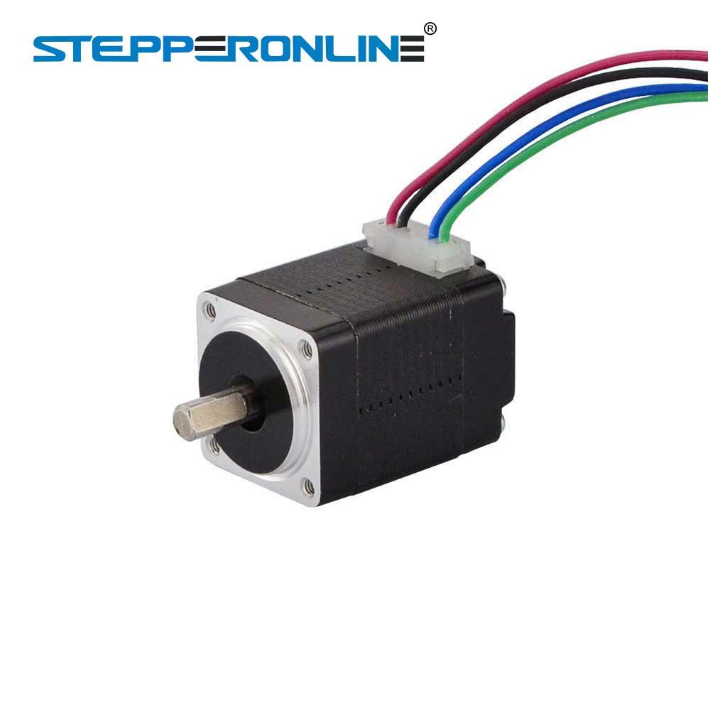 Mini Nema 11 Stepper Motor 1.8deg 0.67A 6Ncm 28x28x31mm 4 Wires DIY 3D Printer