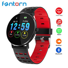 Fentorn L6 Full Touch Screen Smart Watch Men IP68 Waterproof Multiple Sports Mode DIY Watch Face Hear rate Monitor Smartwatch(China)