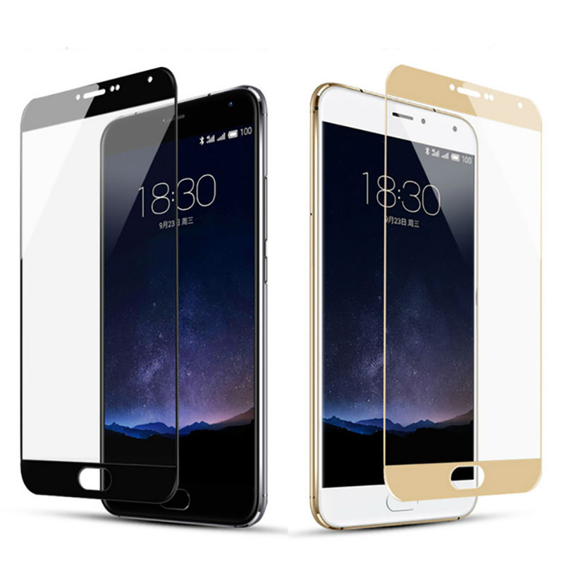 Tempered Glass For Meizu M5S M6S M3 M6 Note 9H Full Cover Screen Protector Film For Meizy M5s M 3 M 6 Note 2.5D Protective Film