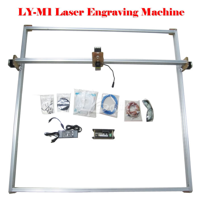 2500mw LY M1 laser cutting machine 100*100CM 100 100cm ly m1 cnc printer 5500mw laser cnc machine