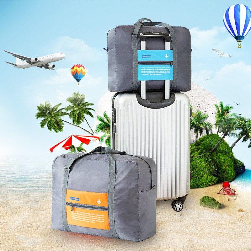 Voyage Avion Bagages Organisateur De Stockage Sacs Grande Capacité Étanche Multi-Fonctionnelle Pliage Sac Cas pour Voyage D'affaires