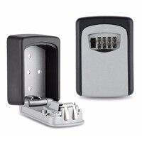 Bóveda combinación 4 pin de bloqueo montado en la pared para máxima seguridad master slimline resistente sistema de almacenamiento de claves