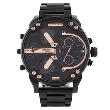 Diesel watch quartz watch Men's clock lu