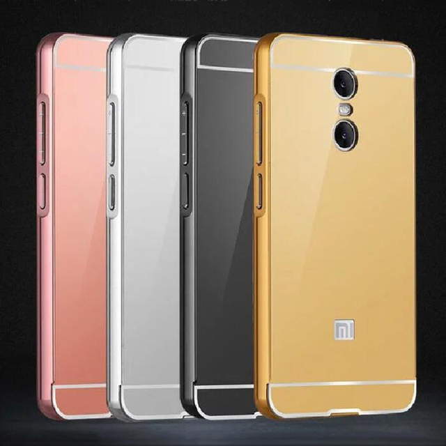 promo code e042d c1070 US $3.93 19% OFF|For Xiaomi Redmi 5 Plus Case Plating Mirror Aluminum Metal  Frame Bumper + Hard PC Back Cover For Xiaomi Redmi5 Plus 5Plus Cases-in ...