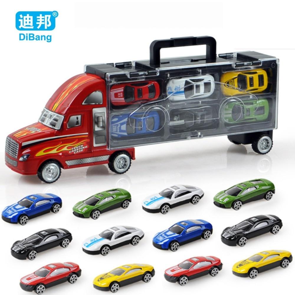 חם חדש 12PCS איכות גבוהה מכונית בייבי - צעצוע כלי רכב