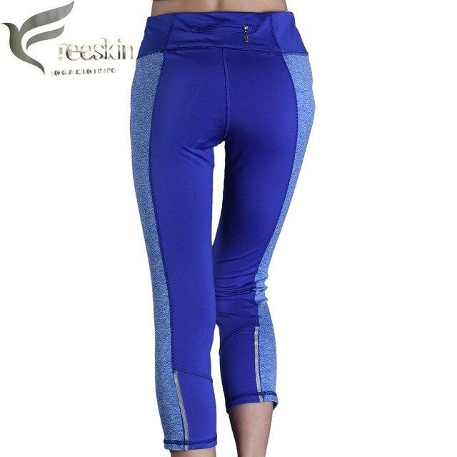 da805bdb2faf1 Zhangyunuo Ladies Yoga Pants Zipper Breathable Push Up Leggings Women Sport  leggings Gym Compression Leggings Fitness Capri