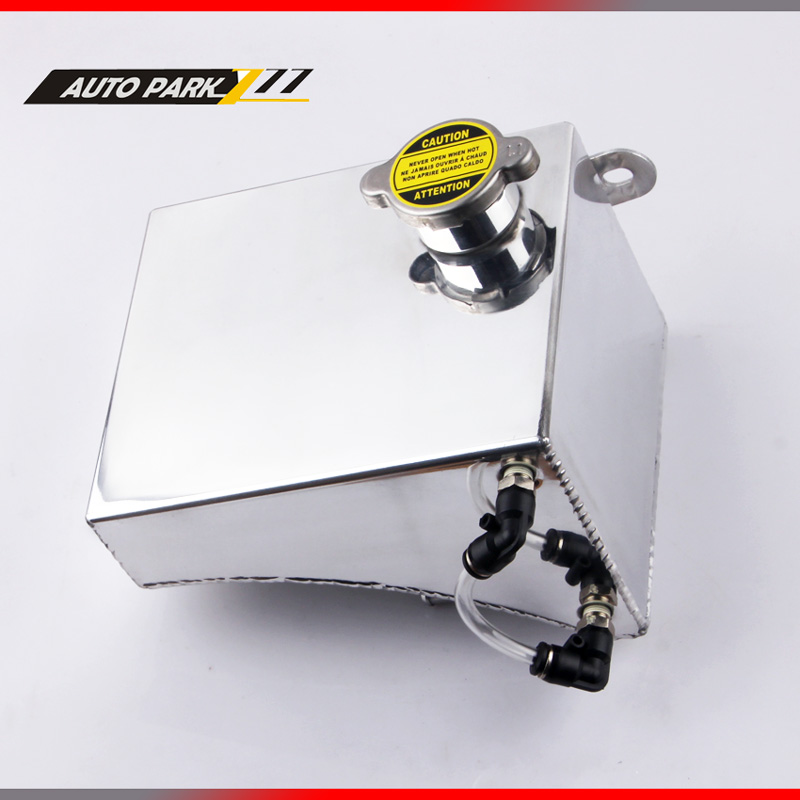 Coolant kettle 240SX SR20DET S13 KA24DE KA24DE KA24E Aluminum Fuel Tank Coolant Overflow Kit for Nissan oct