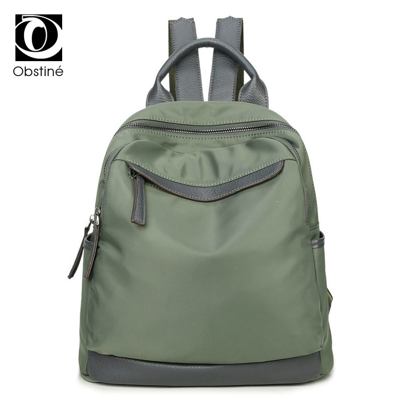 все цены на Obstine Designer Women's Backpacks Waterproof Oxford Back Pack Female School Bags for Teenage Girls Casual Travel Shoulder Bag