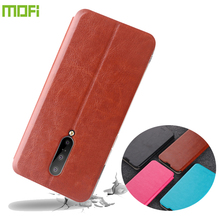 For OnePlus 7 Pro Case MOFI Flip PU Leather Stand Cases Book Style Cover