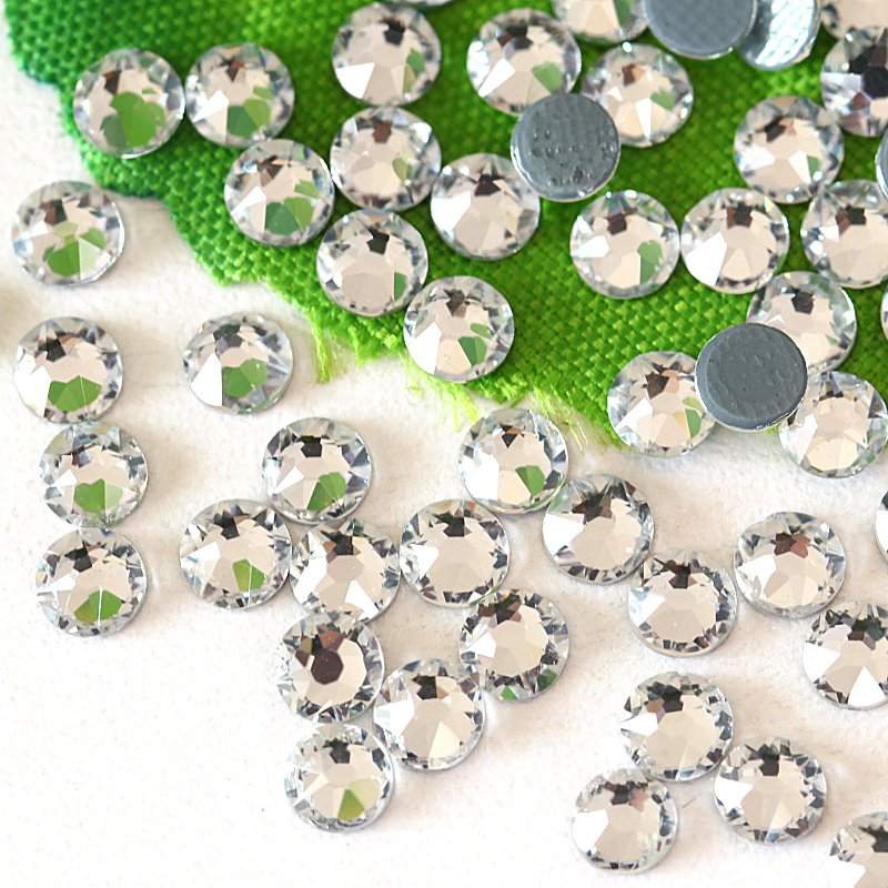 100pcs 8*13mm Water Drop Acrylic Rhinestone Button Multicolour for DIY Craft