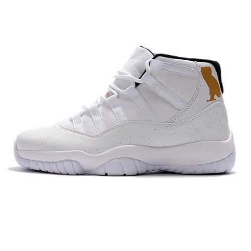 reputable site fe1ba 5b0cd US $53.04 23% OFF| Jordan 11 Retro Win Like 96 Men's Sneakers Basketball  Shoes,Original New Arrival Men Sports shoes AJ11 Outdoor Shoes-in  Basketball ...