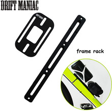 DRIFT MANIAC Bicycle Frame Rack Bike Carrier Holder For Bottle Cage/Repair Tools/Tire Cycles Racks For MTB Road Bike цена в Москве и Питере