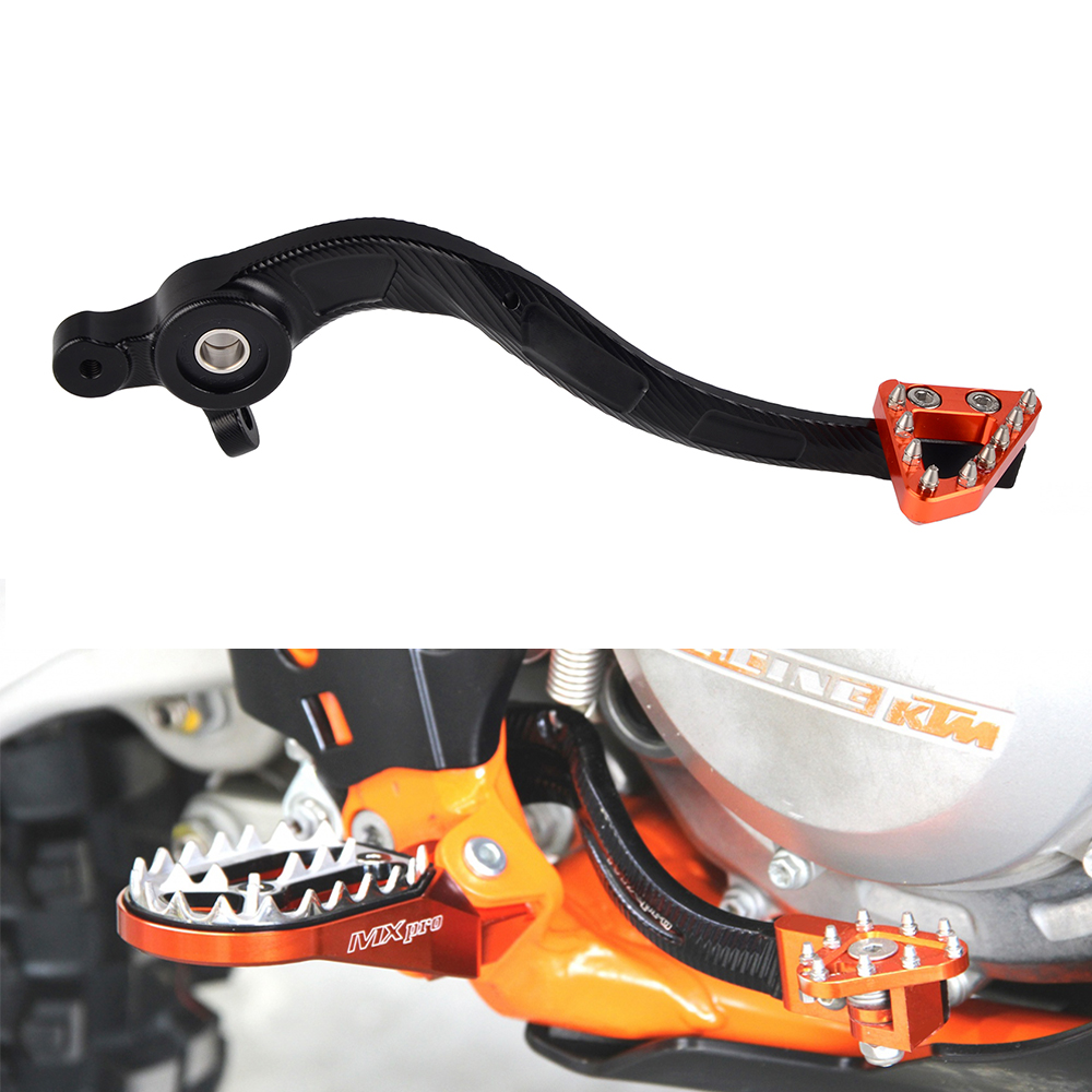 CNC Foot Brake Pedal Lever for KTM 125//150 SX 250//300 XCW 250//350//450 SXF 16-19