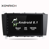 2 Din Android 8.1 Car Multimedia Player No DVD For Mercedes BenzC Classs CLC W203 2004 2007 C200 C230 C240 C320 C350 CLKW209