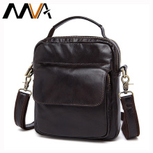 MVA Men Bags Genuine Leather Bag Man New Crossbody Handbag Fashion Men's Messenger Men Shoulder Bags Small Travel Male Bag 9073
