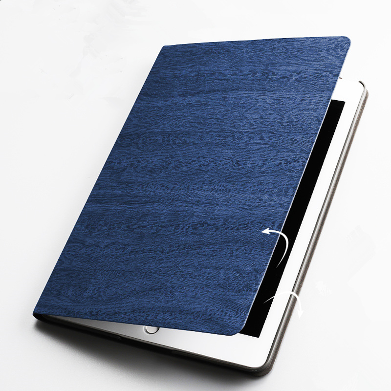 Ultra Slim Folding Stand Smart Case For Ipad Pro 10.5 Resin Pattern Auto Sleep/Wake Back Cover For Apple Ipad 10.5 Inch+Film+Pen