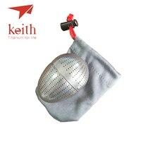 Keith Reinem Titan Kreative Ei Form Tee Sieb Tee Kaffee Duftenden Filter Halten Fitting Gebaut In Teetasse Mi3920-in Outdoor-Geschirr aus Sport und Unterhaltung bei
