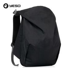 YESO Neue Design Wasserdicht Nylon Laptop Rucksäcke Frauen Männer Große Kapazität Reisetaschen Rucksack Mochilas