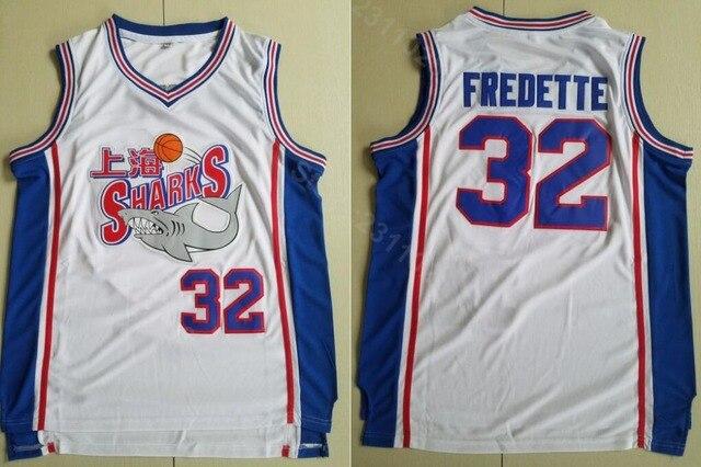 d0ac1fe4e31d Ediwallen Men 32 Jimmer Fredette Basketball Jerseys Cheap Shanghai Sharks  Jersey Men White Team Color All Stitching Hot Sale