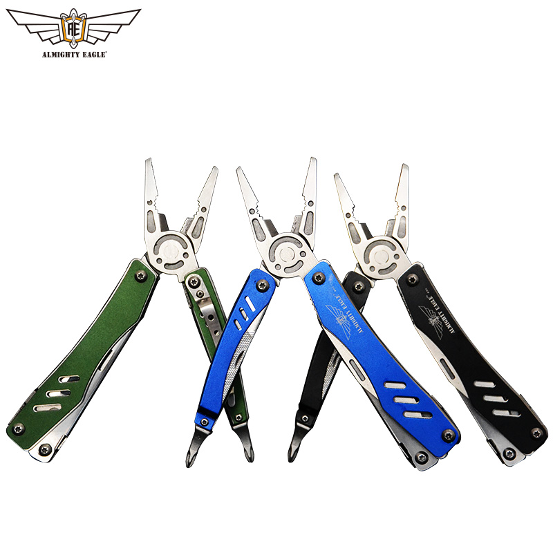 ALMIGHTY EAGLE Multifunctional plier Portable tools with Scissors Knife Screwdriver survival quality camping outdoor equipment ALMIGHTY EAGLE Multifunctional plier Portable tools with Scissors Knife Screwdriver survival quality camping outdoor equipment