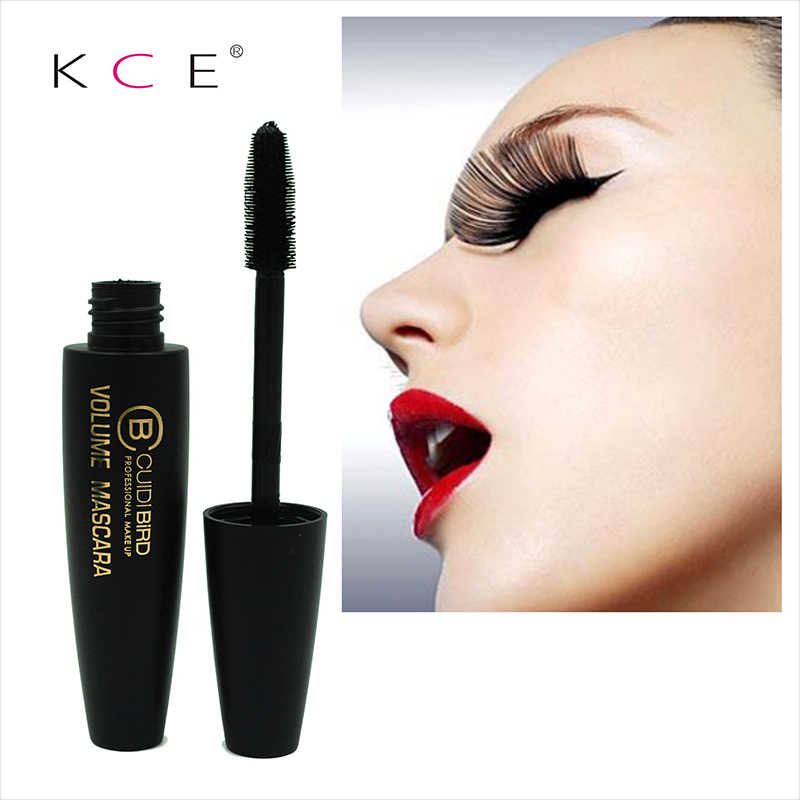 Cílios de fibra 3d lash olho longo extensão rímel curvo escova olhos maquiagem ferramenta secagem rápida à prova dtágua alongamento rímel tslm2