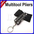 Survival Alicate Knife Screwdriver Crimping Tool Multitool Multi-purpose Mini Keychain Folding Pliers Herramientas HK HW-54