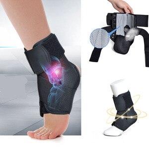 Высокая эластичность поддержка лодыжки Спорт Фитнес дышащий медицинский Регулируемый стабилизатор повязка на ногу носки протектор Ортез