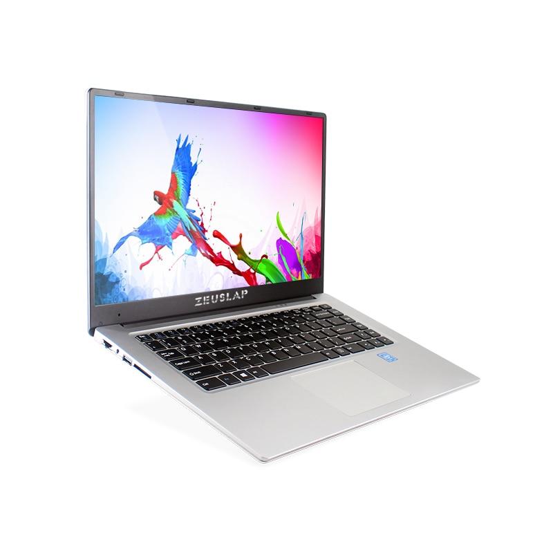 ZEUSLAP 15.6inch 6gb ram 256gb ssd 1tb hdd 1920*1080P IPS Screen Cheap Netbook Laptop Notebook Computer pc