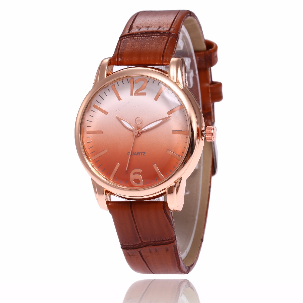 Fashion Unisex Montre Femme Reloj Mujer Leather Stainless Mens Watch Wholesale Quartz Wrist Watches Women Hot Fast Shipping