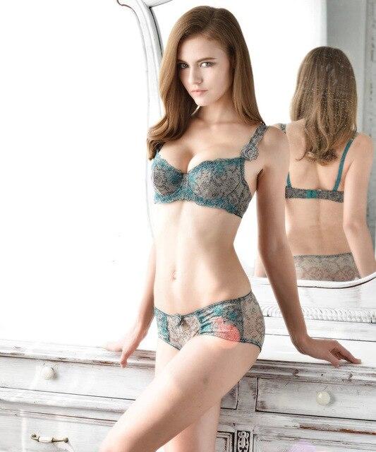 2015 4 18 12 40 Henhaomai Breathable Sexy Big Size Bra Women Rose Beautiful Embroidery -7559